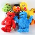 Nuevo 1 unid 30 cm Lindo Sesame Street Elmo Juguetes de Peluche Grande Vird Cokkie Monster Muñecos de Peluche de Juguete Niños Regalos de Cumpleaños Del Partido presenta