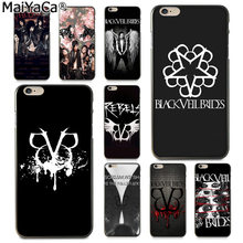 MaiYaCa Black Veil Brides BVB Amazing new arrival phone case cover for Apple iPhone 8 7 6 6S Plus X 5 5S SE XS XR XS MAX Cover(China)