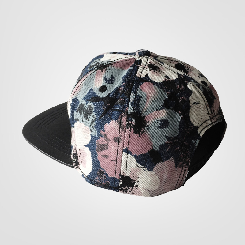 extra deep baseball caps the new men women youth hip hop flower ink painting crown hats