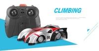 Remote Control Car RC Wall Climber Racing Car 360 Degree Climbing USB Charging Concept Upgraded Boy