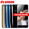 "Huawei Honor 9 AL00 4GB RAM 64GB ROM 5.15""Octa Core Android 7.0 1920*1080 3200mAh 3 Cameras Mobile Phone NFC OTG Fingerprint"