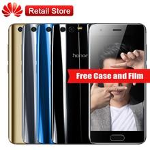 "Huawei Honor 9 AL00 4 GB RAM 64 GB ROM 5,15 ""Octa Kern Android 7.0 1920*1080 3200 mAh 3 Kameras Handy NFC OTG Fingerprint"
