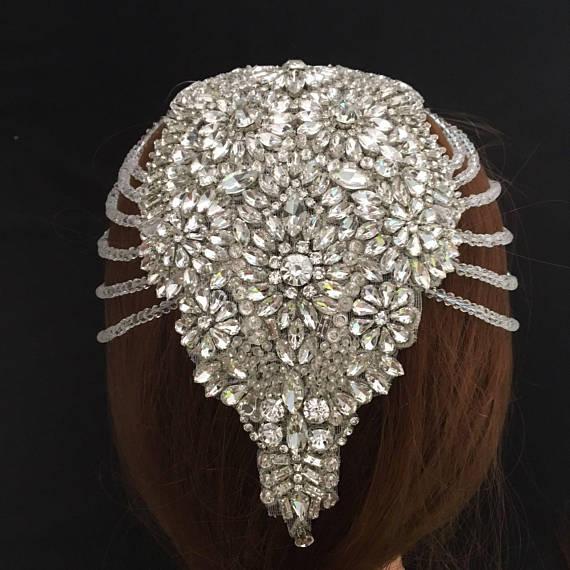 Горный хрусталь аппликация для невесты, бисера горный хрусталь аппликация, корабль свадебное платье принадлежности, хрустальный шарик лиф,...
