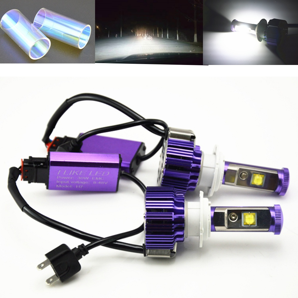 H4 H1 H3 H11 H7 H13 Led Headlight Cars High Low Beam 80W Fog Light Kit LED Lamp Xenon Car-Styling LED Bulbs For Cars Pure White