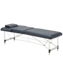 185 см* 60 см кровать+ подушка+ подлокотник, спа тату Красота Мебель портативный складной массажный салон кровать массажный стол из алюминиевого сплава