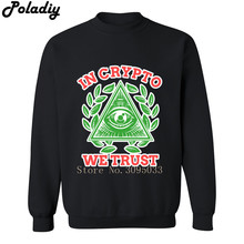 In Crypto We Trust Sweatshirt Crypto Coin Cryptocurrencies Blockchain Mining Men Sweatshirts Hoodies Mens Hip Hop Clothes