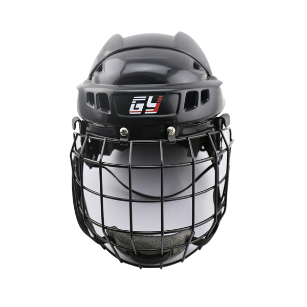 New Arrivals GYSPORTS colorful bullfight ice hockey helmet with ear protection and A3 steel mask for player free shipping ce hecc csa approved new design ice hockey helmet hockey sport helmet with mask for adlut