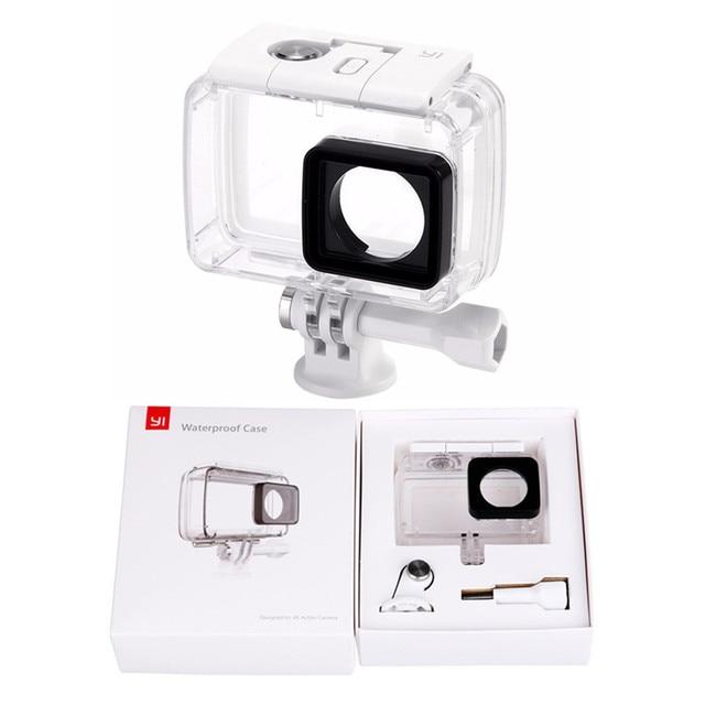 Diving Underwater Waterproof Housing Case Cover For Original Xiaomi Yi 2 4K Xiaoyi 2 4K Sports Action Camera Accessories F3556