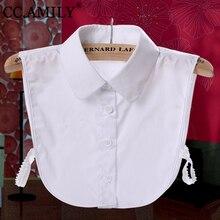 Dámská falešná košile s límečkem pod oblečení