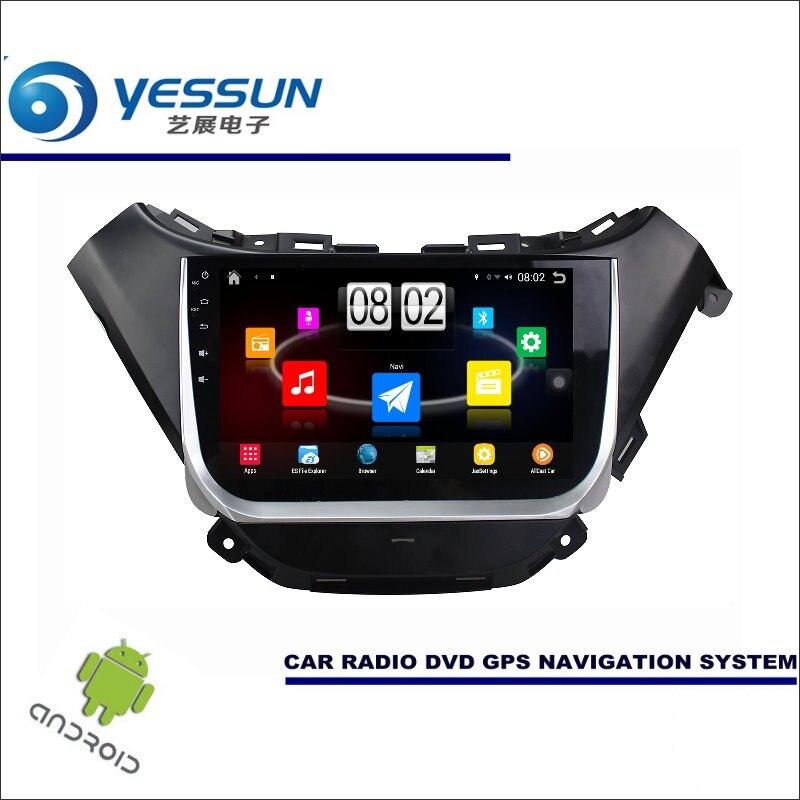 Yessun автомобиля Android мультимедийный плеер для Chevrolet Malibu XL 2016 ~ 2017 Радио стерео GPS nav Географические карты Navi (без CD DVD) 9 HD Экран