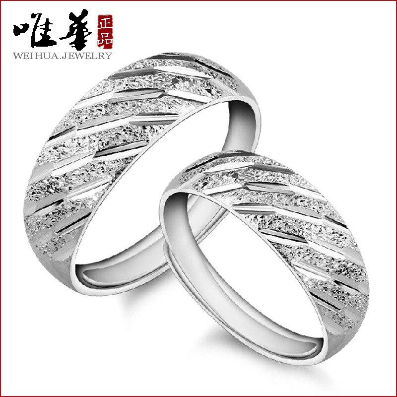 Viva S925 пара серебряное кольцо ювелирных изделий Оптовая продажа, Корейская обувь для мужчин и женщин модные серебряные кольца на метеорный п...