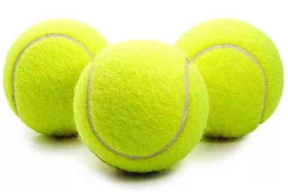 3 Tennis Balls Sports Tournament Outdoor Fun Cricket Beach Dog Activity Game Toy4