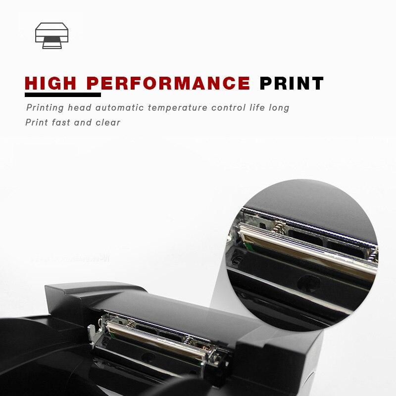 58 мм Термальность принтер получения печатная машина Скорость 78 мм/сек. USB + Поддержка bluetooth Android и IOS APP Системы