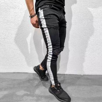 35f8756beb Vaqueros slim fit para hombre Pantalones vaqueros clásicos Hombre denim  jeans de diseñador TrousersCasual skinny rectos elasticidad Pantalones