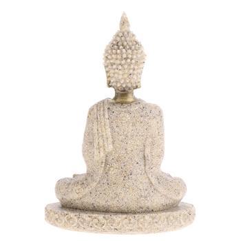 Meditation Buddha Statue Figurine Handmade 2
