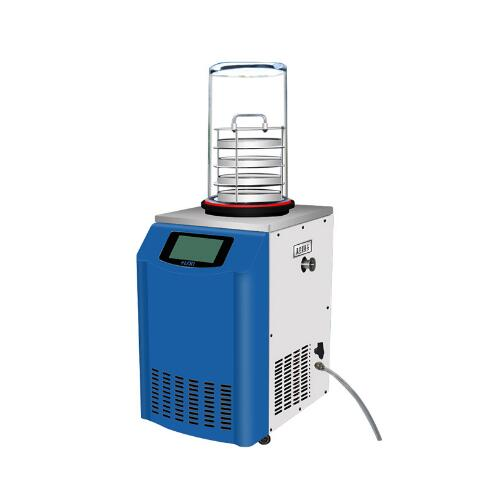 0.12 Square meters standing type Cheap Vacuum Mini Laboratory Biological Freeze Dryer for sale