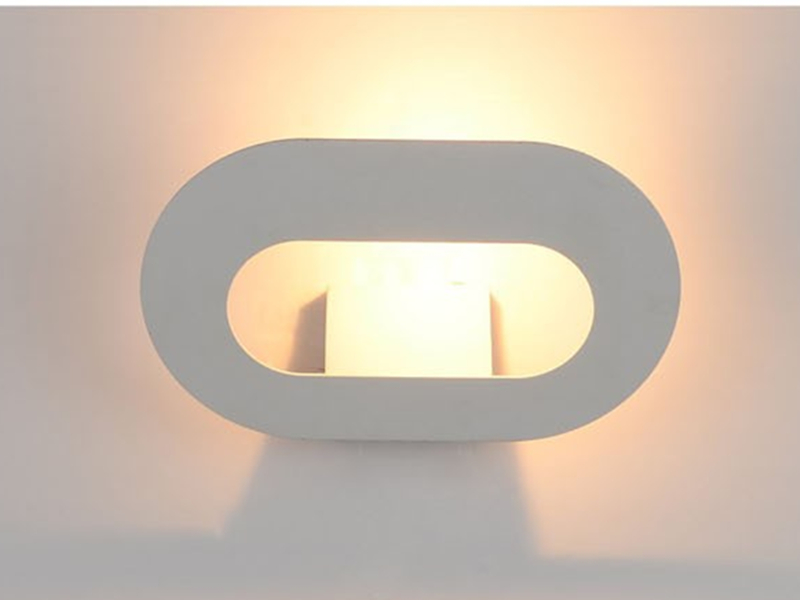 ФОТО Modern Wall Light Brief Design 150*250*120mm White 6w Bedside Reading Lamp Bedroom Lighting High Quality