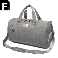 Color Matching Travel Bag PU Leather Weekender Tote For Men And Woman Travel Shoulder Bags Best