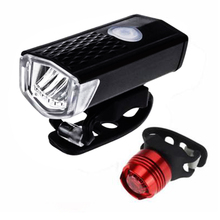 Bike Lights 300 Lumens Handlebar USB Charging Battery Light  Headlights Waterproof Bicycle Taillights ce