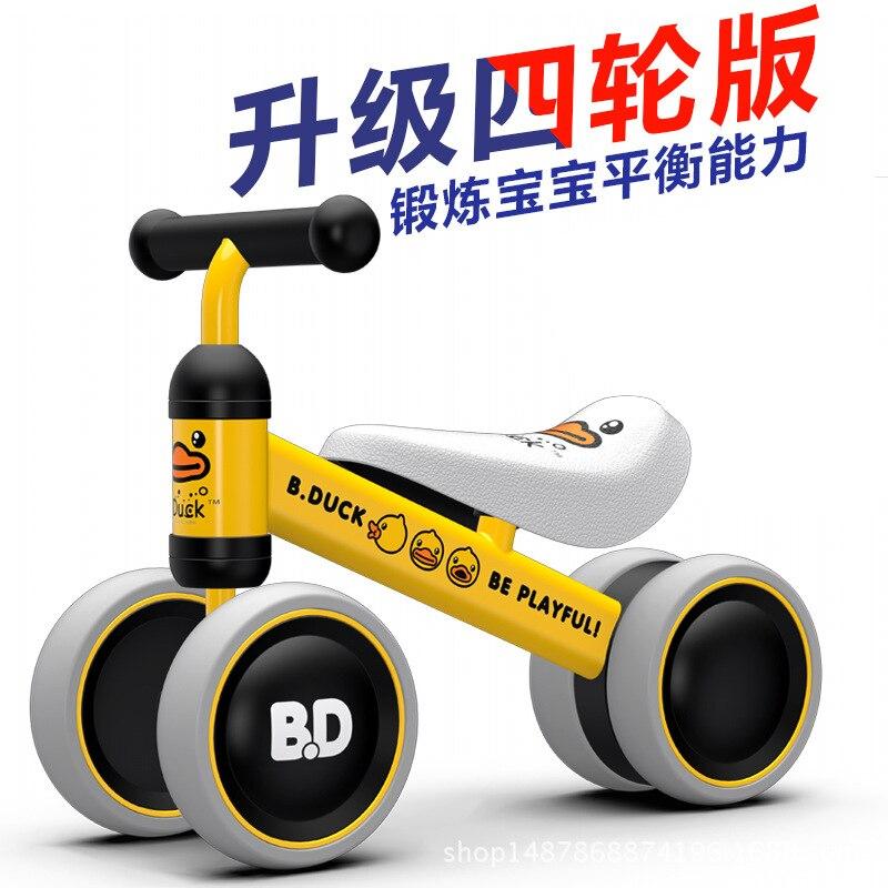 Babyfond bébé Balance voiture enfant Taxio quatre roues marcheur pour cadeau bébé
