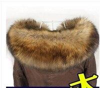 Free shipping MAO collar raccoon article maomao imitation fox fur collar cap fake collar to winter