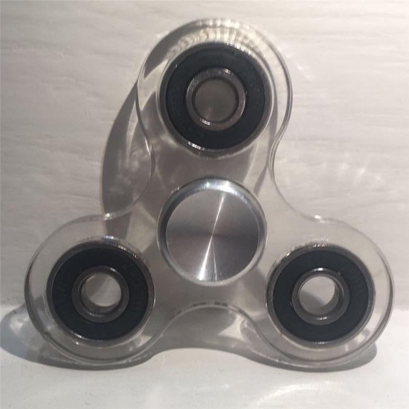 2017 New Spinning Top Tri Spinner Fidget Toy Ceramic EDC Hand Finger Spinner Desk Focus Toy