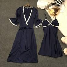 Voplidia Robe Femme Sexy Bathrobe Women 2017 Summer Lace Nightgown Sleepwear Pajamas Pijama Feminino Pyjama VOP007