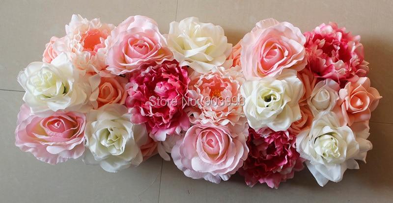SPR 10ks / lot Nový svatební oblouk květ nástěnný stůl květinové koule svatební dekorativní flore doprava zdarma