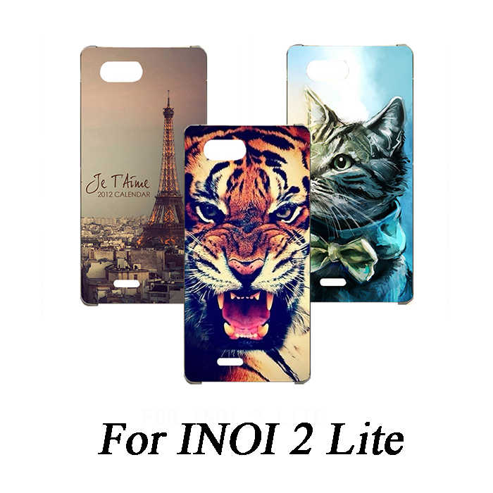 Soft Tpu Phone Case For INoi 2 lite Cases Silicone Painted Wolf Rose Cat Eiffel Fundas Sheer For INoi 2 lite Back Cover
