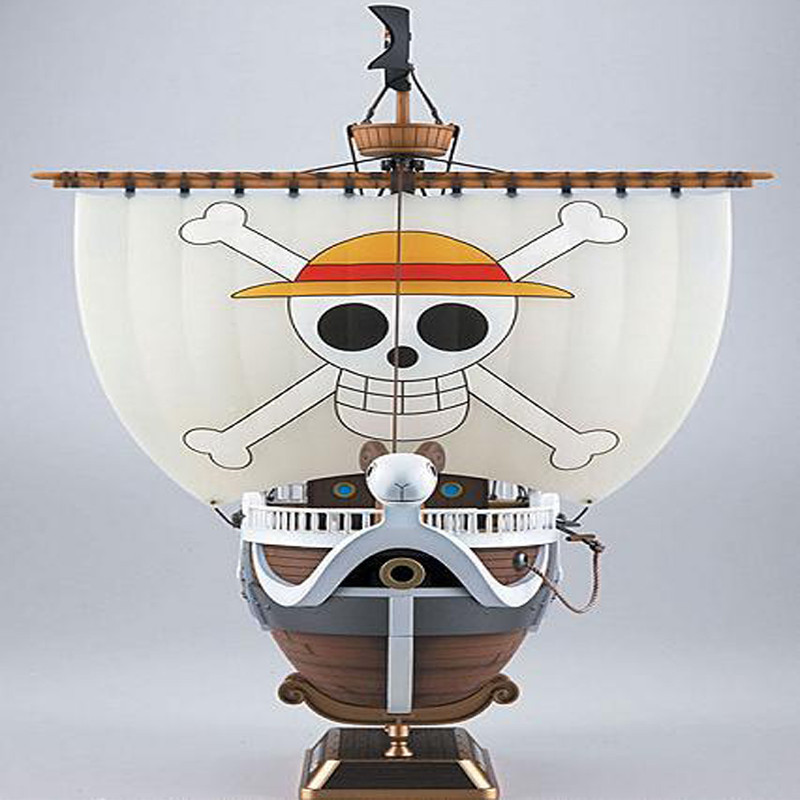 ФОТО Newest Anime Model Toy One Piece Thousand Sunny Pirate ship Figure 35cm Thousand Sunny Boat ship PVC Action Figures Collectible