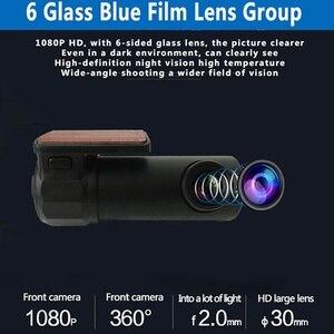Image 5 - HD Автомобильная DVR камера Wifi Даш камера 170 градусов широкий угол мини ночного видения Авто Вождение видео рекордер 30fps автомобиль камера для приборной панели