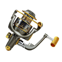 Seamless Metal reel Sea Fishing Lure Carp Reel olta makaralar 5.5:1 Gear ratio Metal Spinning Fishing Reel Fish Carretilha Pesca