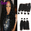 Peruvian Deep Wave Hair Best Selling Virgin Peruvian Hair Deep Wave remy Human hair Bundles 4pcs/lot Peruvian Virgin Hair