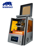 WANHAO D8 high precision 3D DLP printer resin printer,printer for dental jewelry with wifi free shipping