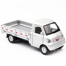 Diecast Car 1/32 Model Truck Liuzhou Metal alloy Light Car Simulation Pull Back Vehicles Cars Toys For Kids Gifts For Children 1 24 scale storage container truck plastic vehicles toys with diecast mini car hot alloy auto wheels magic tracks cars for kids