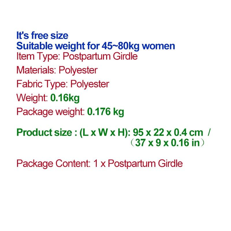 SMDPPWDBB synnytyksen jälkeinen vatsa-bändi Raskausvyö vatsahihna - Raskaus ja äitiys - Valokuva 6