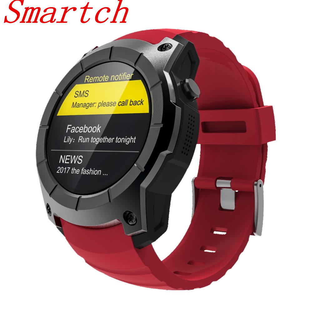 Smartch S928 Smart Watch Heart Rate Monitor Bluetooth Smartwatch Gps Tracker Running Sport Watch Smart Electronics Wearable Devi roadtec smart watch gps sport watch bluetooth heart rate monitor smartwatch sim card montre connecte android wearable devices