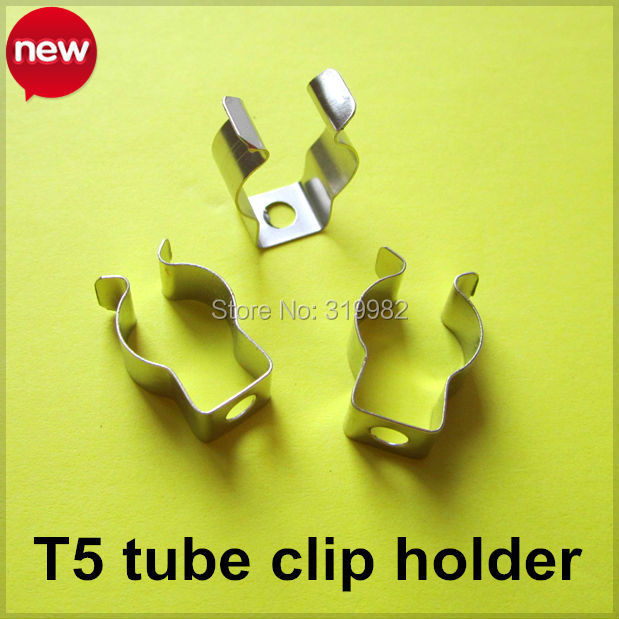 20X T5 LED tube lamp clip holder T5 U clip Fluorescent lamp base T5 metal connector holder T5 socket clip лампочка foshan t5 t5 22w28w32w40w