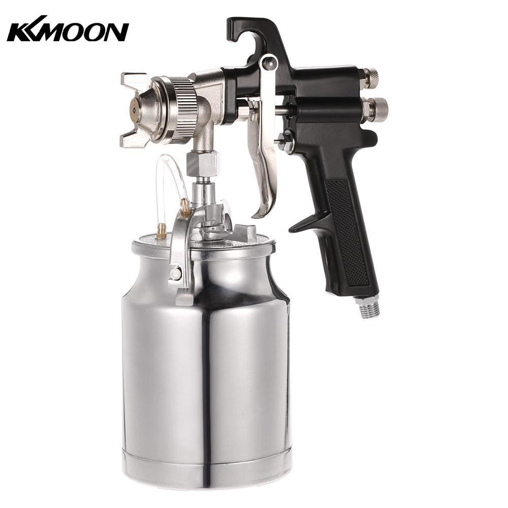 все цены на  Spray Gun High Pressure Titan Cup Maxium II HVLP Turbine Siphon Feed Paint Spray Gun 1.8mm Nozzle 1000cc  онлайн