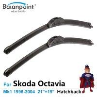 Retrofit Wiper Blade For Skoda Octavia Hatchback Mk1 1996 2004 21 19 Car Accessory For Windshield