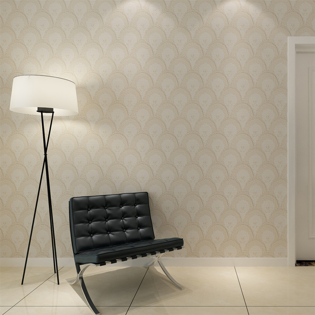 Hanmero embossed grey wallpaper waterproof vinyl contemporary wall coverings for wall decoration qz0433