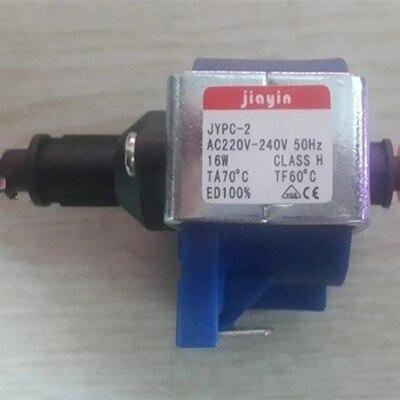 Bomba solenóide eletromagnética de 220v a 240v 16w para ferros, esfregão a vapor/vestuário/máquina de café/lâmpada black etc