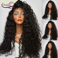 180% Full Lace Human Hair Wigs Brazilian Virgin Hair Full Lace Wigs With Baby Hair Glueless Lace Front Wigs For Black Women