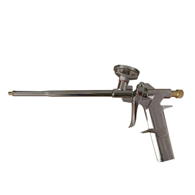 Pistola de espuma rociada carcasa pistola de calafateo pistola de pegamento de vidrio pistola de espray expansible de espuma sellador dispensador de aislamiento de PU aplicador Uso de herramienta