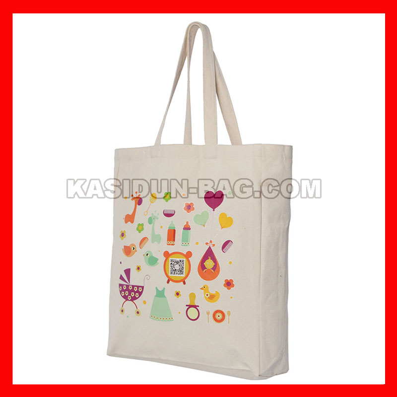 (500Pcs/Lot) Size 30X40x10cm (12X16x4&Quot;) Custom Canvans Shopping Tote Bag With Logo