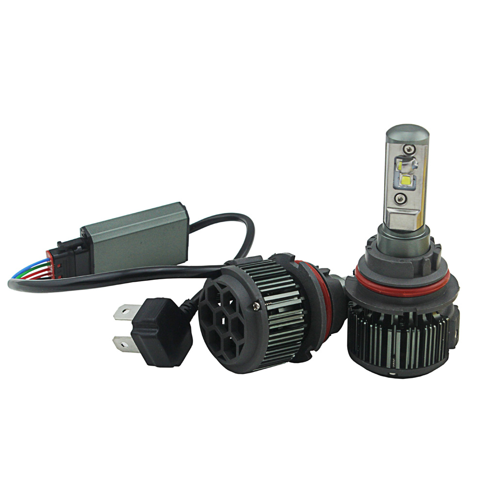 2015 40W 4000LM 9004 9007 V16 C R ee LED Headlight Conversion Kit Driving Lamp Bulb LED Car Light Source 6000K ...