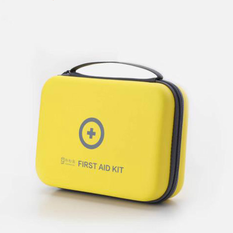 Nouveau xiaomi mijia accueil kit médical PU imperméable à l'eau portable trousse de premiers soins portable paquet de sauvetage médical voyage en plein air maison intelligente
