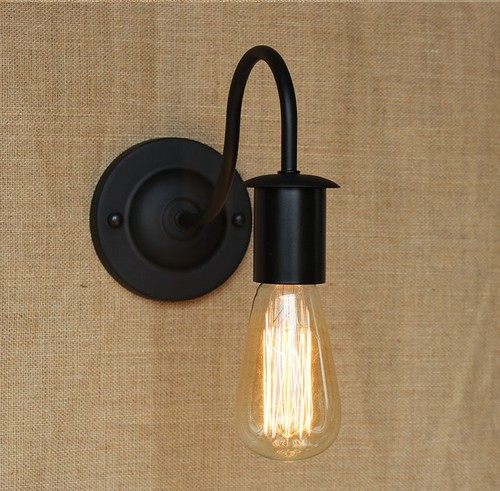Antique Industrial Vintage Wall Lamp Edison Wall Sconces Loft Style Retro Wall Lights For Home Indoor Lighting Arandela rope wall lamps vintage industrial wall lighting cafe bar aisle sconces bedroom lamp indoor home lighting fixtures edison lights