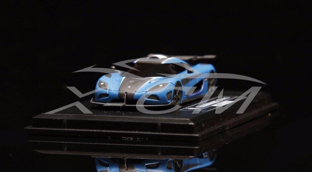 Resin Car Model FrontiArt Koenigsegg One 1 Avan Style 1 87 Matt Blue SMALL GIFT