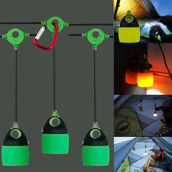 Mini Outdoor lantern tent light Waterproof Collapsible Camping lantern Emergency Lights with Hook Night Lamp for Camping Bulb mini portable lantern tent light led bulb emergency lamp waterproof hanging hook flashlight for outdoor fishing camping
